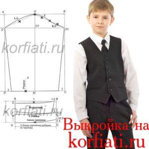 Выкройка-рукава-к-рубашке