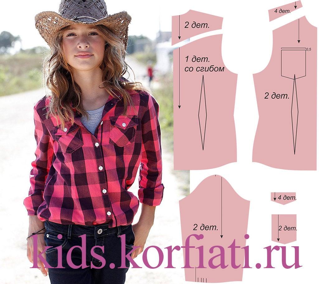 f4c9c0c0325 Такая блузка в ковбойском стиле из теплого мягкой фланели в клетку