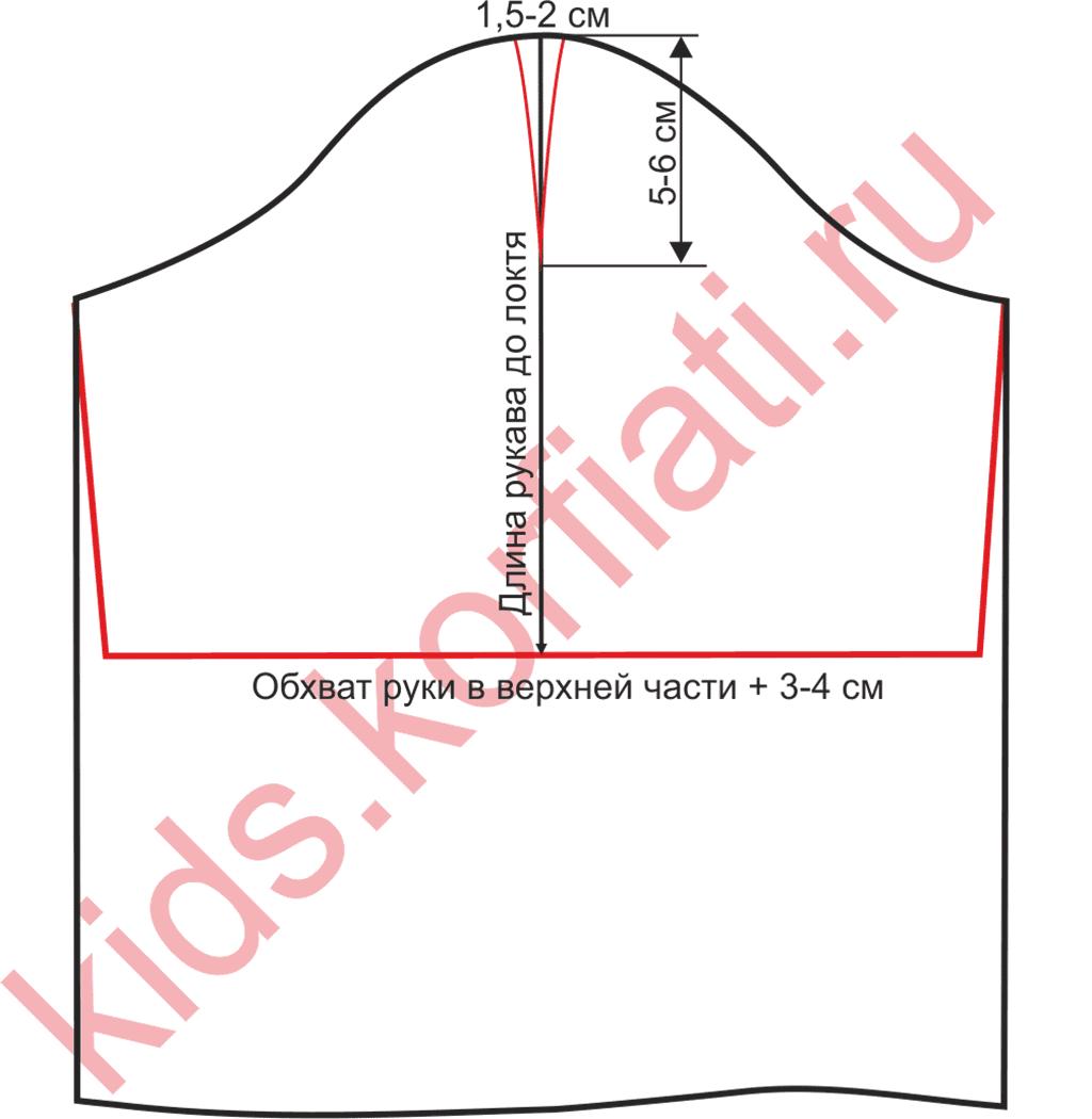 Выкройка платья трапеция от Анастасии Корфиати 51