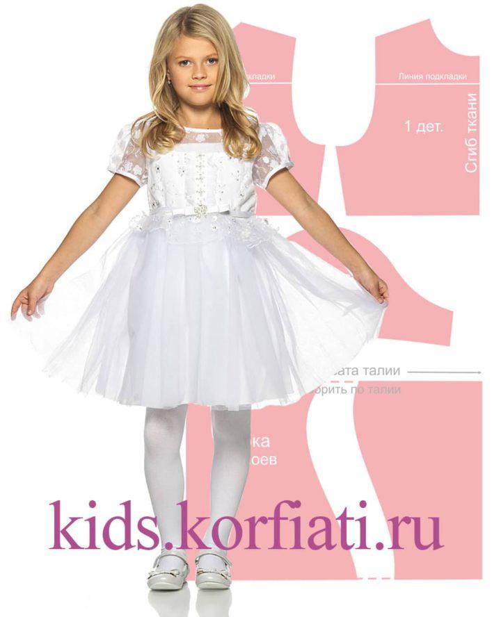 Выкройки одежды для детей