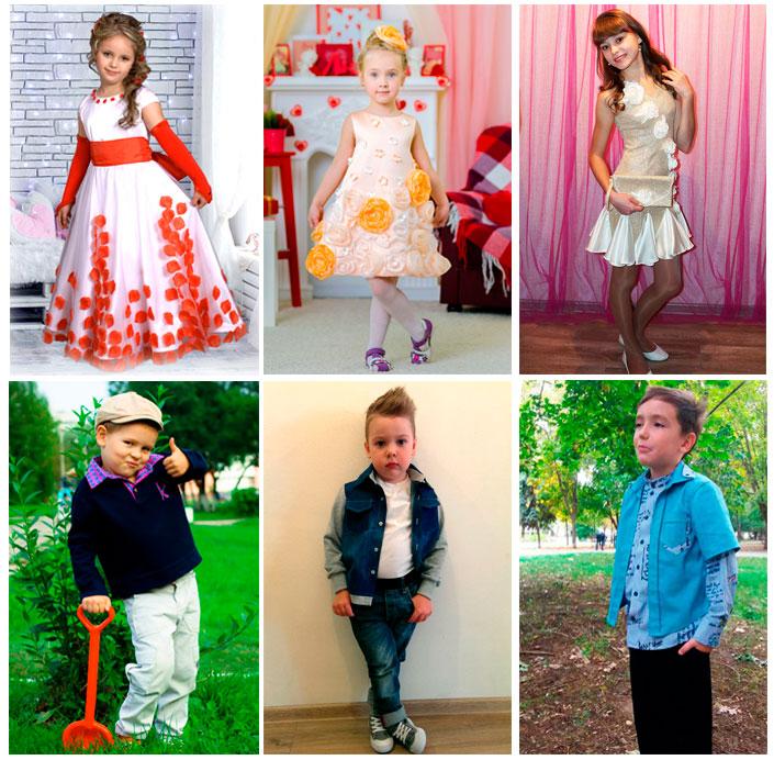 Победители конкурса детской одежды «Краски детства 2017»